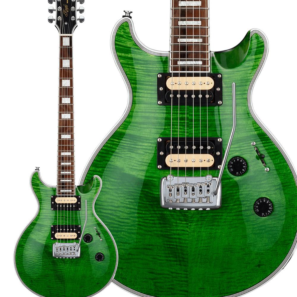 GrassRoots G-KT-CTM See Thru Green エレキギター シースルーグリーン【Originalシリーズ】 【グラスルーツ】【予約受付中:2020年1月10日発売予定】