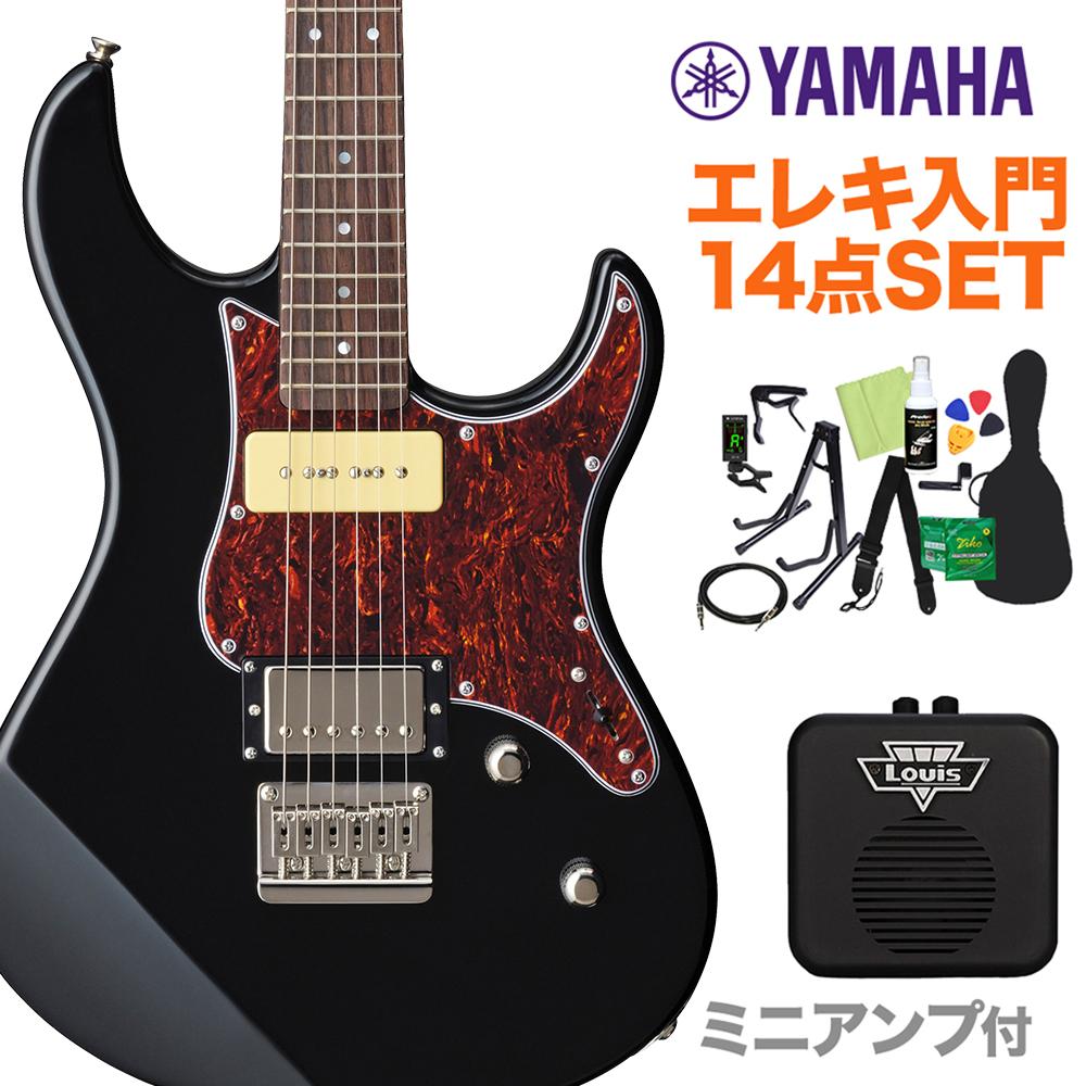 YAMAHA PACIFICA311H BL(ブラック) エレキギター初心者14点セット 【ミニアンプ付き】  【ヤマハ パシフィカ】【オンラインストア限定】