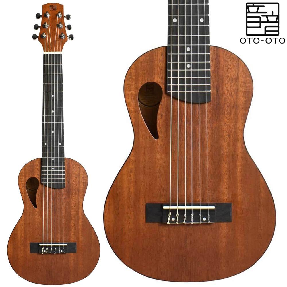 音音 GP1M 情熱セール Natural Mahogany ランキング総合1位 ナイロン弦 ナチュラルマホガニー オトオト ミニギター ギタレレサイズ プチギター