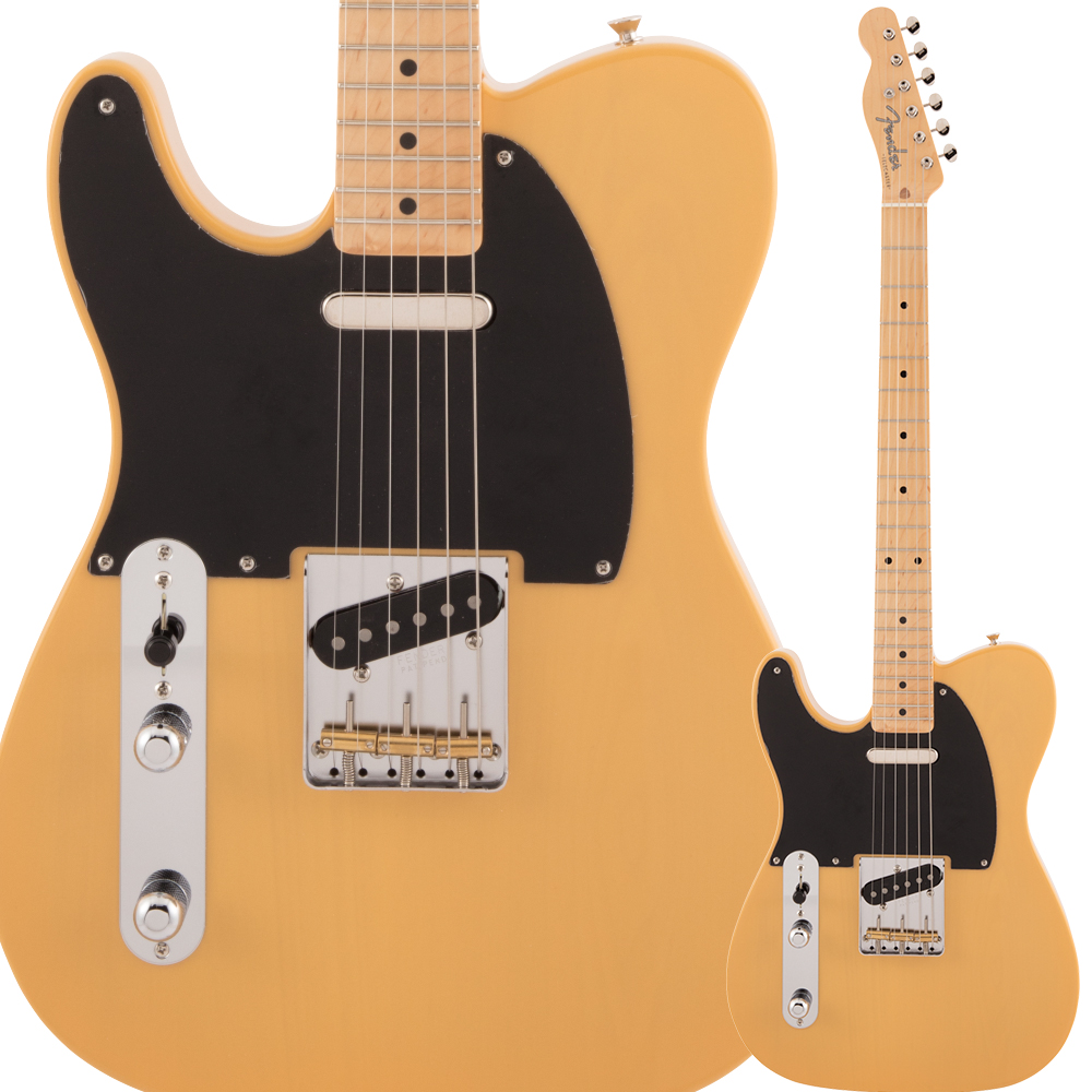 Fender Made in Japan Traditional 50s Telecaster Left-Handed Maple Fingerboard Butterscotch Blonde エレキギター テレキャスター 左利き 【フェンダー】