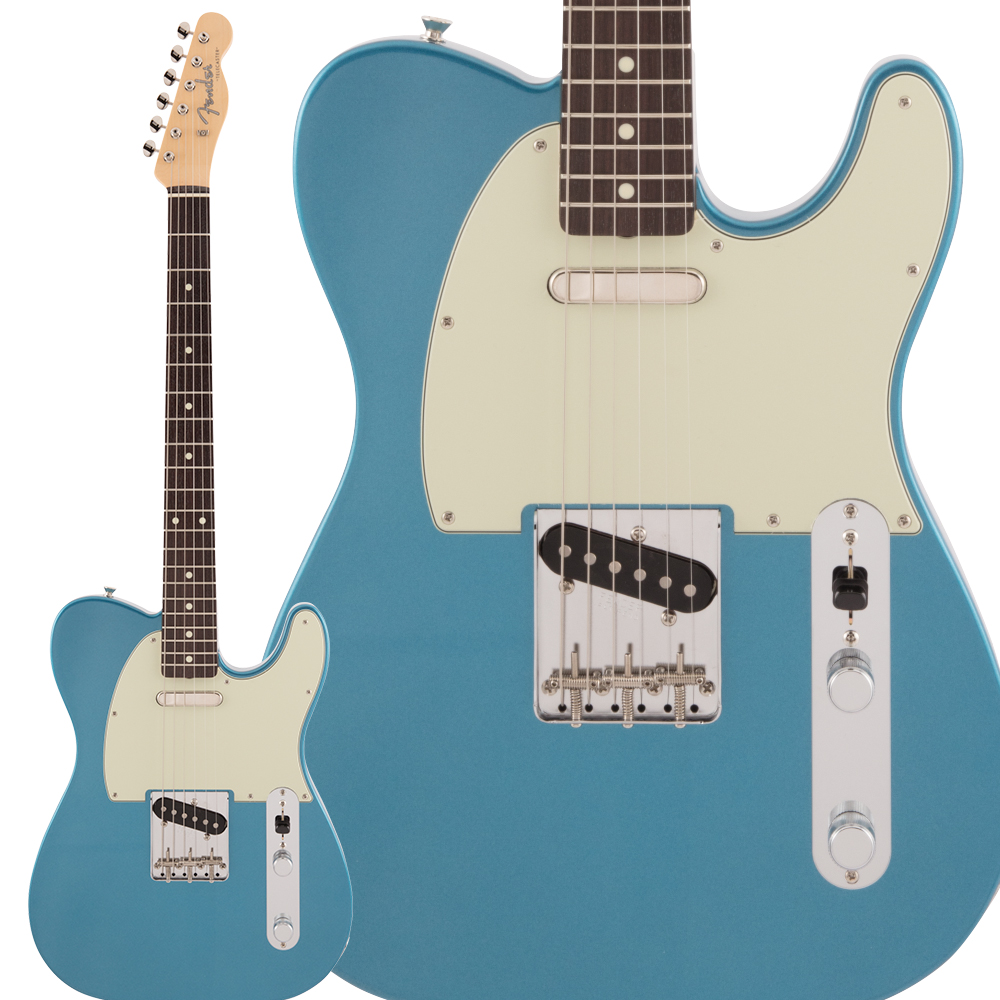 Fender Made in Japan Traditional 60s Telecaster Rosewood Fingerboard Lake Placid Blue エレキギター テレキャスター 【フェンダー】