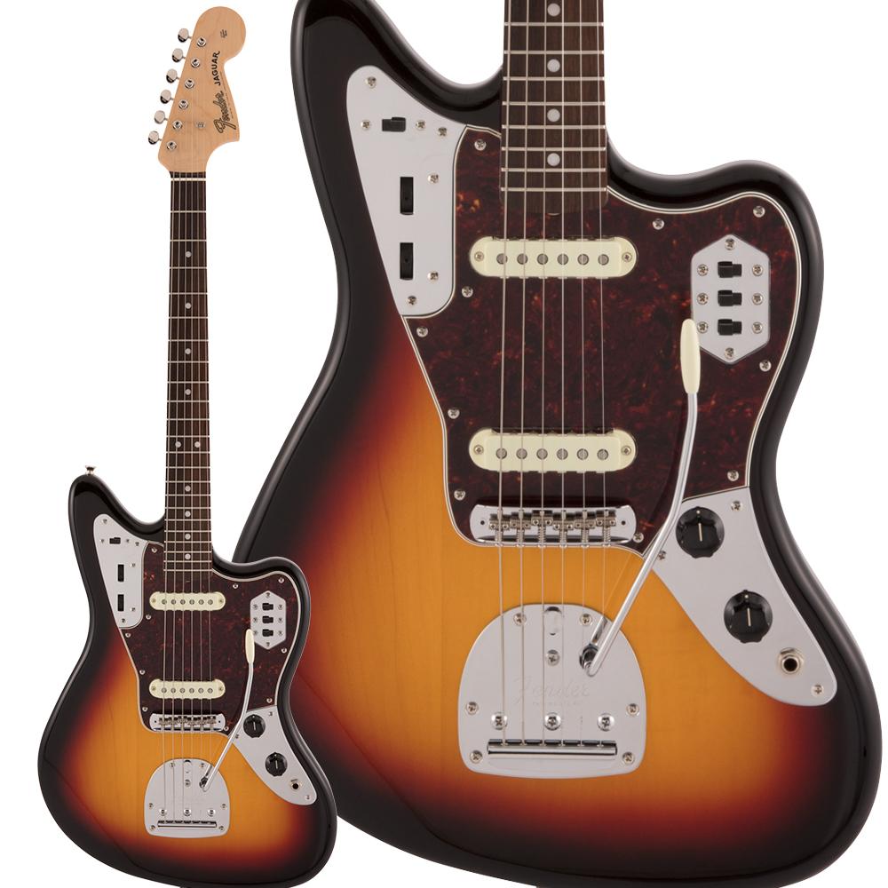 Fender Made in Japan Traditional 60s Jaguar Rosewood Fingerboard 3-Color Sunburst エレキギター ジャガー 【フェンダー】