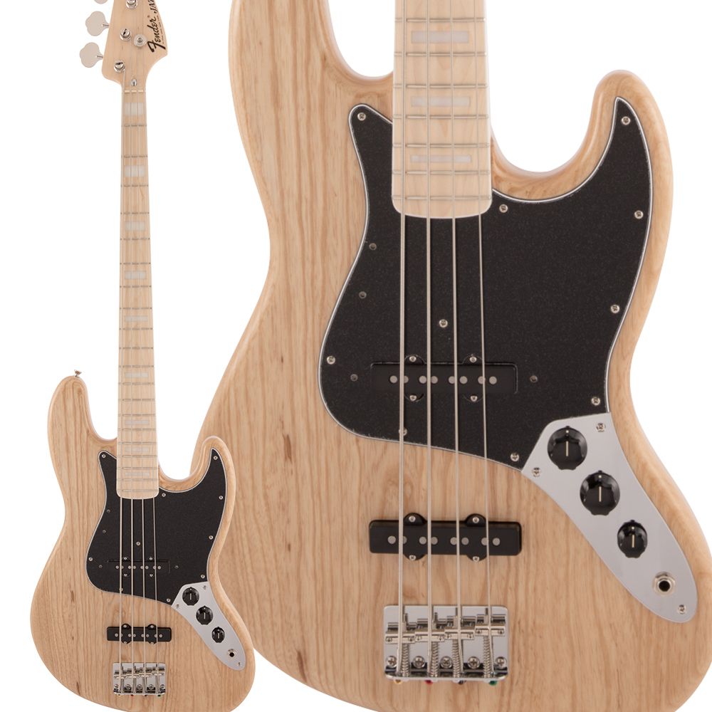 Fender Made in Japan Traditional 70s Jazz Bass Maple Fingerboard Natural エレキベース ジャズベース 【フェンダー】