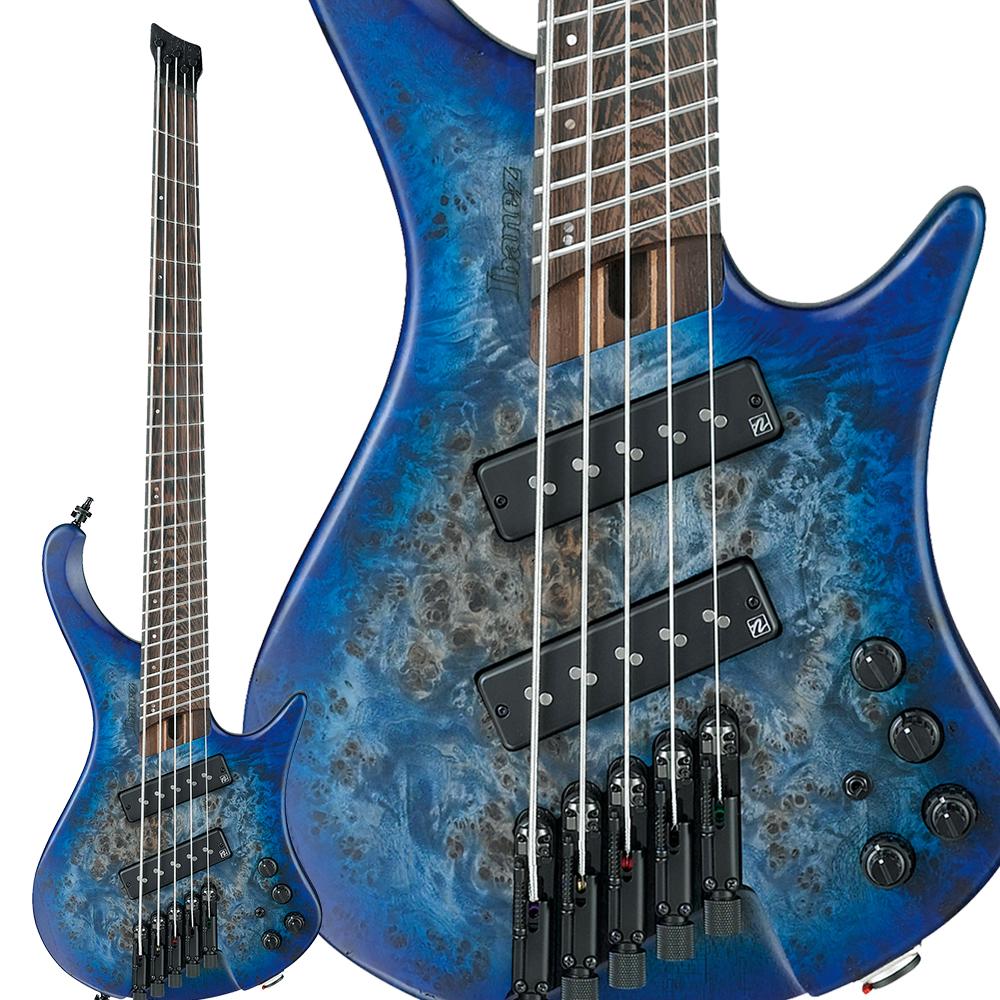 Ibanez EHB1505MS Pacific Blue Burst Flat 5弦エレキベース 【アイバニーズ】