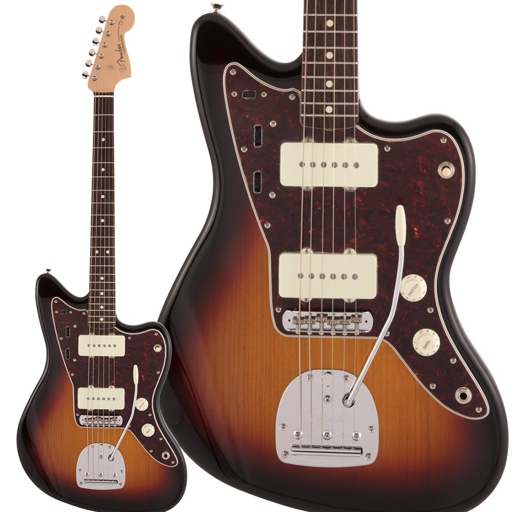 Fender Made in Japan Heritage 60s Jazzmaster Rosewood Fingerboard 3-Color Sunburst エレキベース ジャズマスター 【フェンダー】