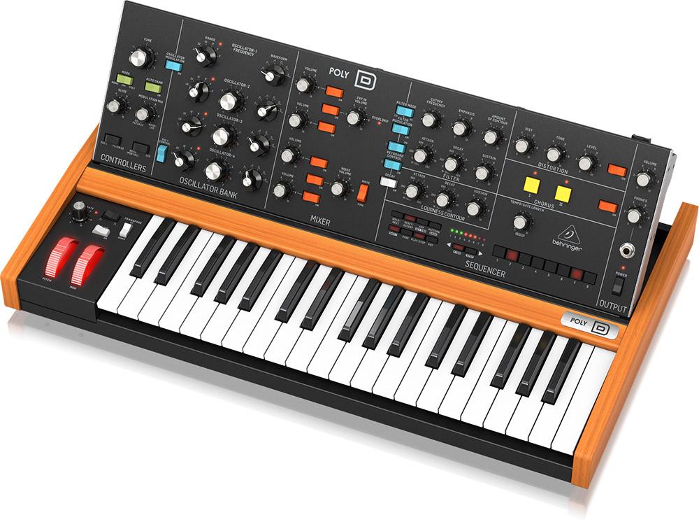 BEHRINGER POLY D 37鍵盤 アナログ パラ/ ポリフォニックシンセサイザー 【ベリンガー】