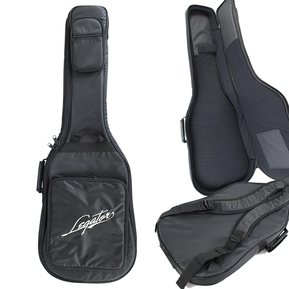 Legator LGB100S 無料 内寸高110cm エレキギター用ソフトケース エクストラロングスケール対応 ギグバッグ レガター 代引き不可
