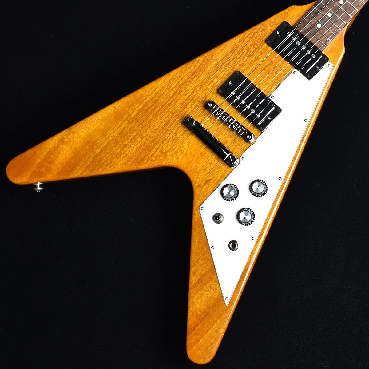 Gibson Flying V 2019 Antique Natural S/N:114390150 【ギブソン フライングV】【未展示品】