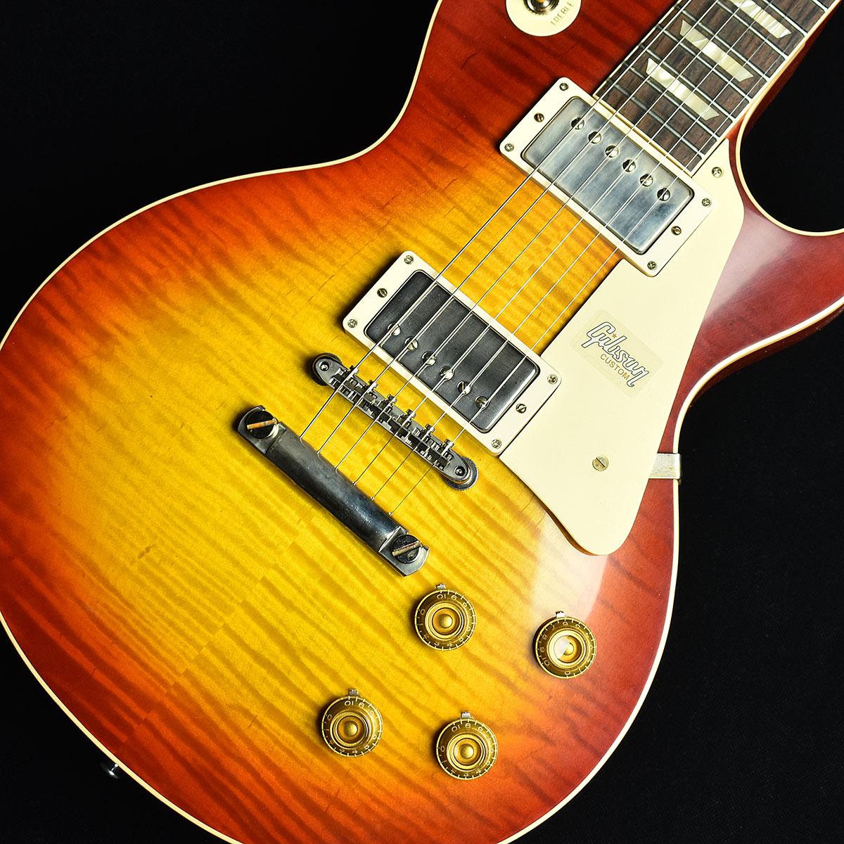 Gibson Custom Shop 60th 1959 Les Paul Standard VOS Dark Cherry Burst S/N:993867 【ギブソン カスタムショップ】【60th Anniversary】【現地選定材オーダー品】【未展示品】