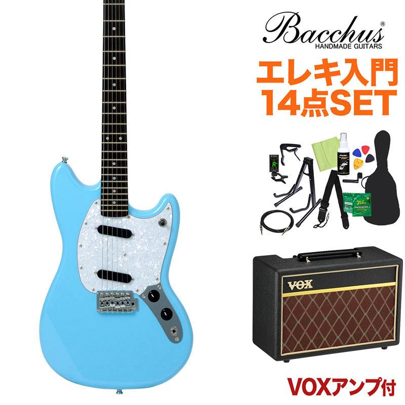 <title>Bacchus BMS-1R SOB エレキギター 初心者14点セット VOXアンプ付き ユニバースシリーズ 代引き不可 バッカス ムスタング</title>