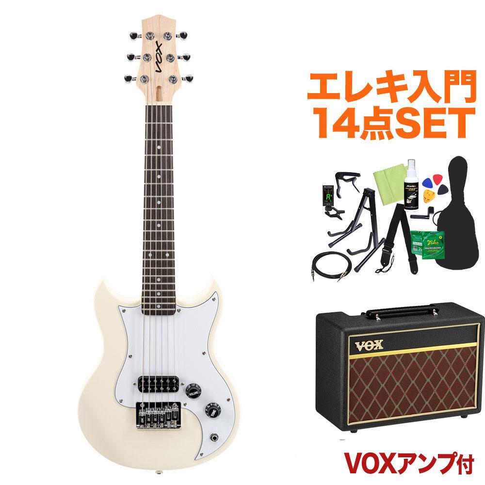 <title>VOX SDC-1 MINI WH ミニエレキギター初心者14点セット VOXアンプ付き ボックス 初回限定</title>