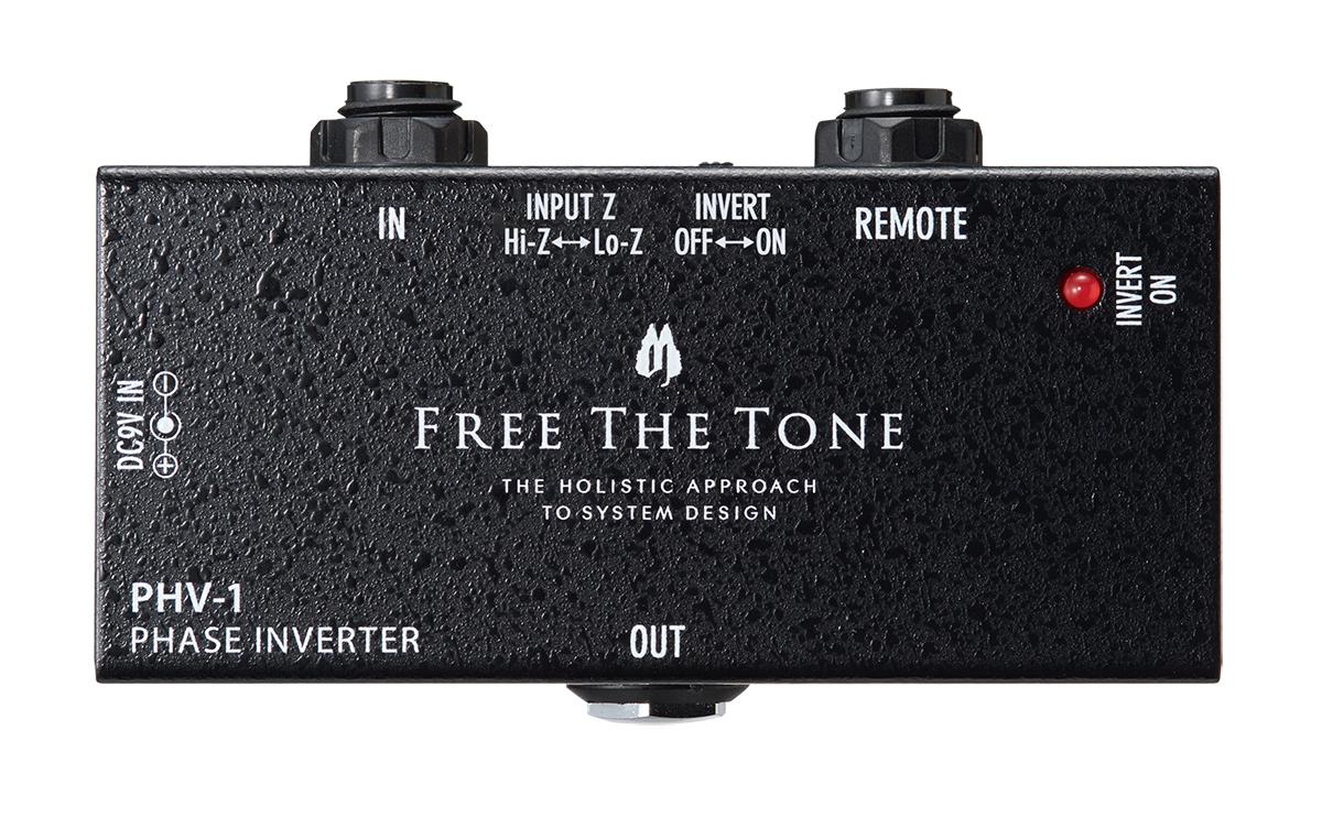 FREE THE TONE PHV-1 BK フェイズインバーター 【フリーザトーン】