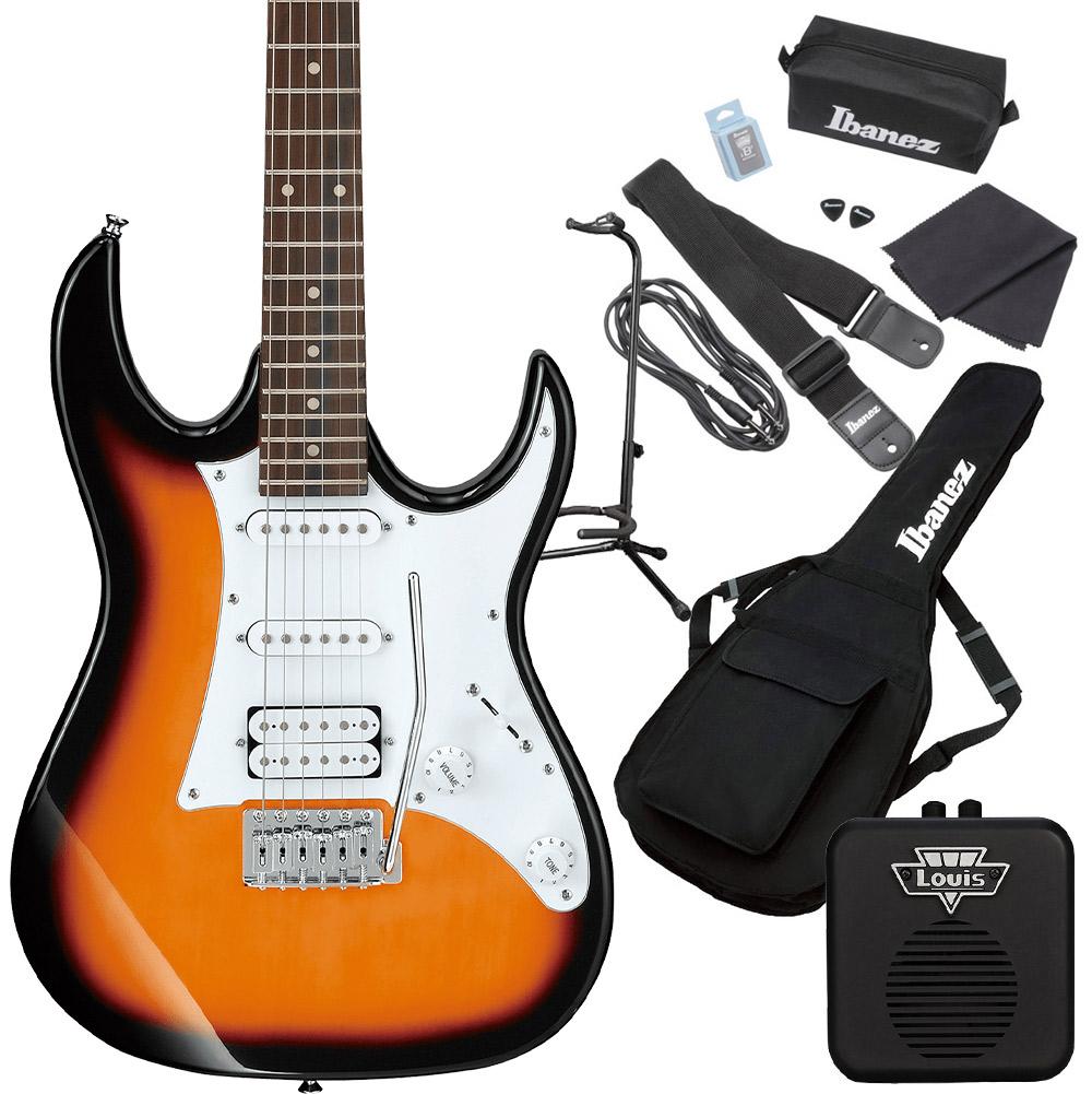 <title>Gio Ibanez GRX40 TFB Tri Fade Burst エレキギター 初心者セット ミニアンプ付き 時間指定不可 ジオ アイバニーズ</title>