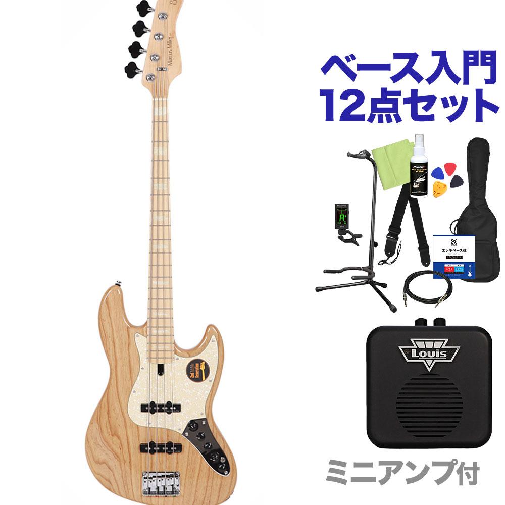 Sire Marcus Miller V7 公式 4ST ASH 2nd ジャズベースタイプ 値引き サイアー ベース ミニアンプ付 初心者12点セット NT Generation