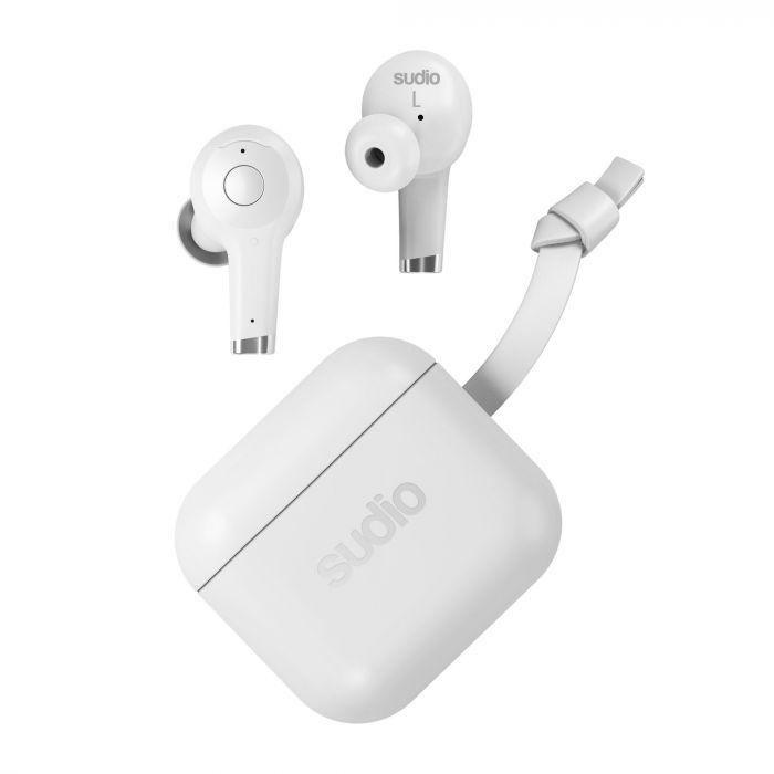sudio Ett 2020 日本産 White ワイヤレスイヤホン Bluetoothイヤホン スーディオ