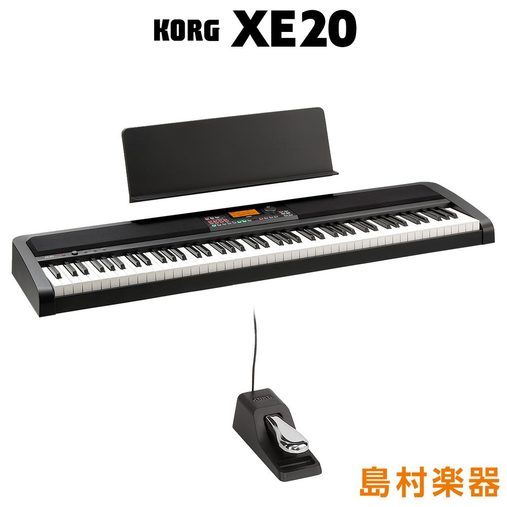 KORG 売却 人気ブレゼント! XE20 電子ピアノ コルグ 88鍵盤