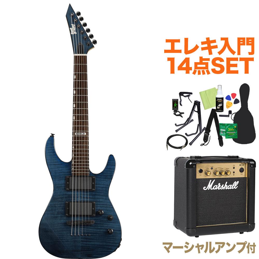 BanG Dream! M-II Sayo Mini STPR エレキギター初心者14点セット【マーシャルアンプ付き】 Roselia 氷川紗夜 モデル 【バンドリ】