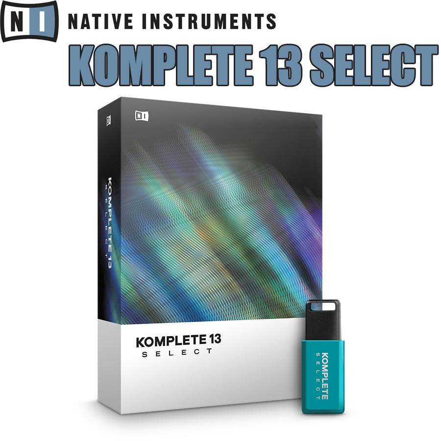 <title>Native Instruments NI KOMPLETE13 SELECT ネイティブインストゥルメンツ 新品</title>