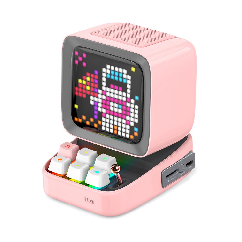 DIVOOM DITOO ピンク 購買 ポータブルスピーカー 高級な ディブーム Bluetoothスピーカー DIV-DITOO-PK