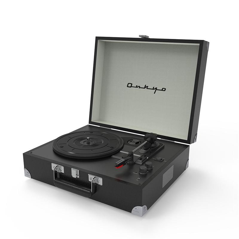 !超美品再入荷品質至上! ONKYO Classic Series OCP-01 ブランド品 Mystic Black オンキョー Bluetooth搭載 ポータブルレコードプレーヤー