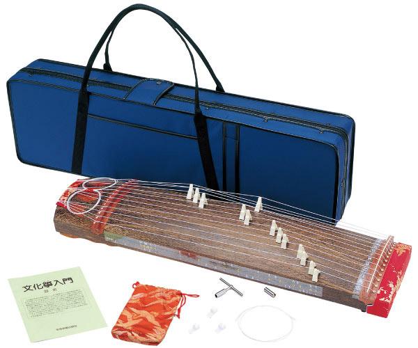 全音 ZK-02 文化箏羽衣 ハードケース付 【ゼンオン】