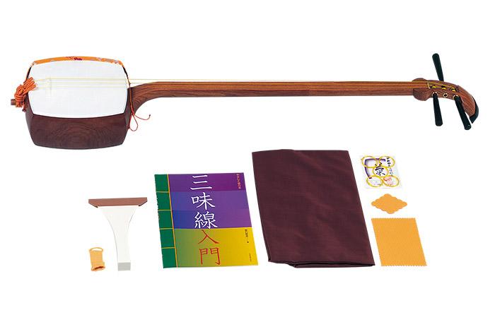 全音 ZSK-10  三味線特製セット 長唄用 【ゼンオン】