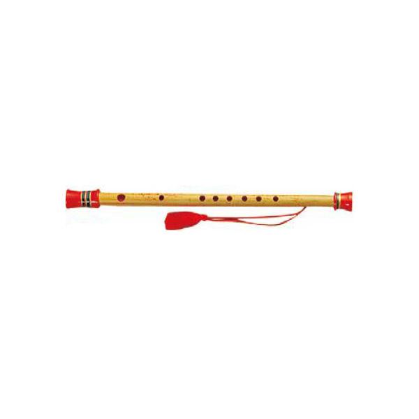 紫山 明笛 5号 C調 木製天地・房付 【シザン】