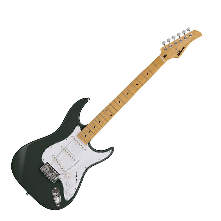 Greco WIS-3S MA DKGR Dark Green エレキギター Maple指板 【グレコ】