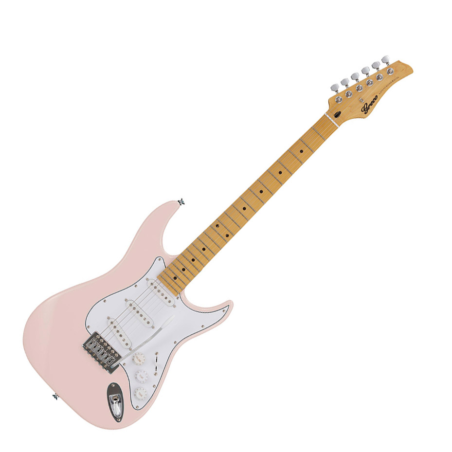 Greco MA WIS-3S MA LPK Greco Light Pink エレキギター Maple指板【グレコ】【グレコ】, 細川作業服:24d97795 --- sunward.msk.ru