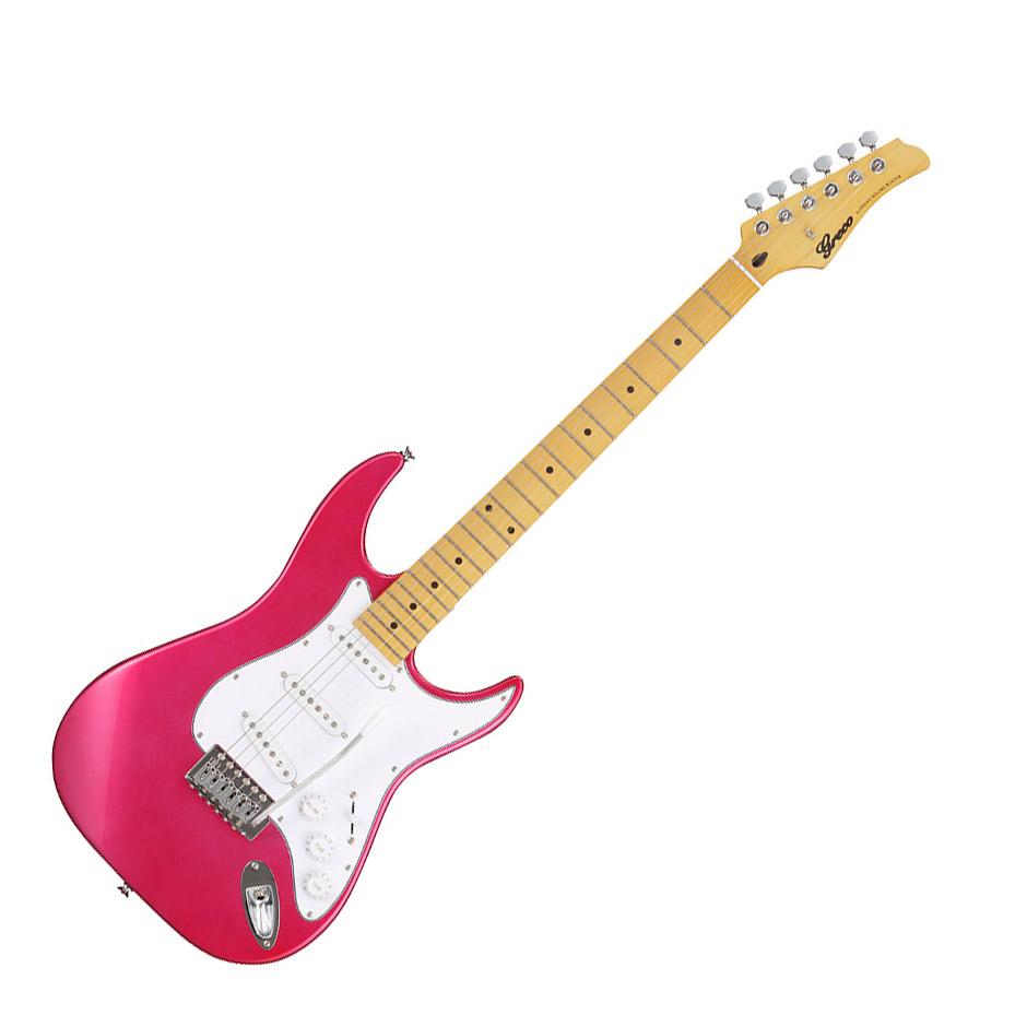 Greco WIS-3S MA【グレコ】 PPK Pink Pearl Pink MA エレキギター Maple指板【グレコ】, 鎌田屋:024094db --- sunward.msk.ru
