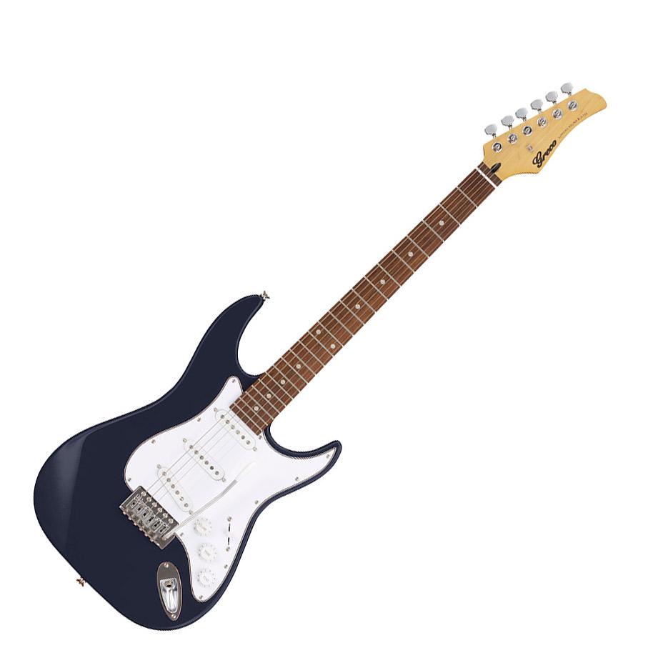Greco WIS-3S MB DKMB Dark Metallic Blue エレキギター Merbau指板 【グレコ】