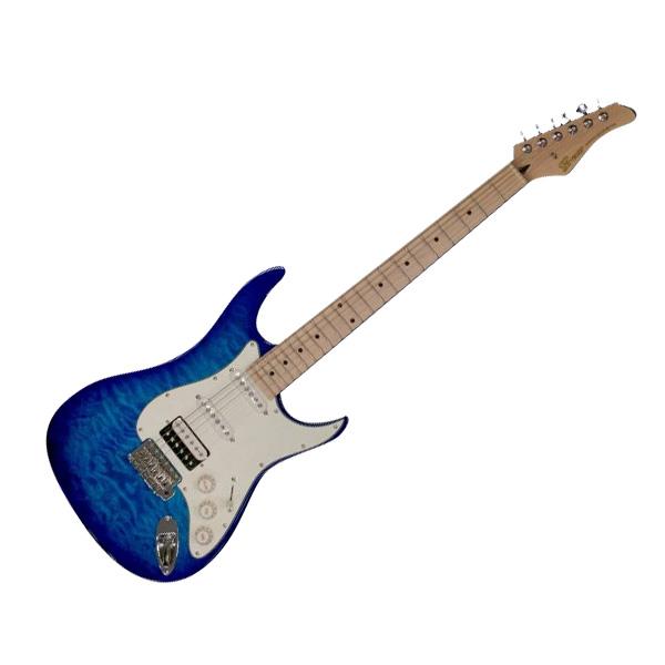 Greco WS-QT SSH AQB M Aqua Blue エレキギター Maple指板 【グレコ】