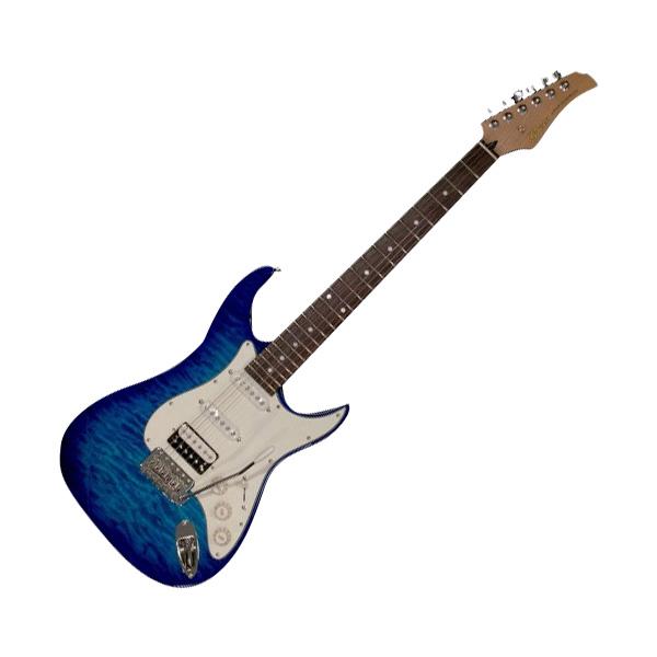 Greco WS-QT SSH R Aqua Blue エレキギター Rosewood指板 【グレコ】