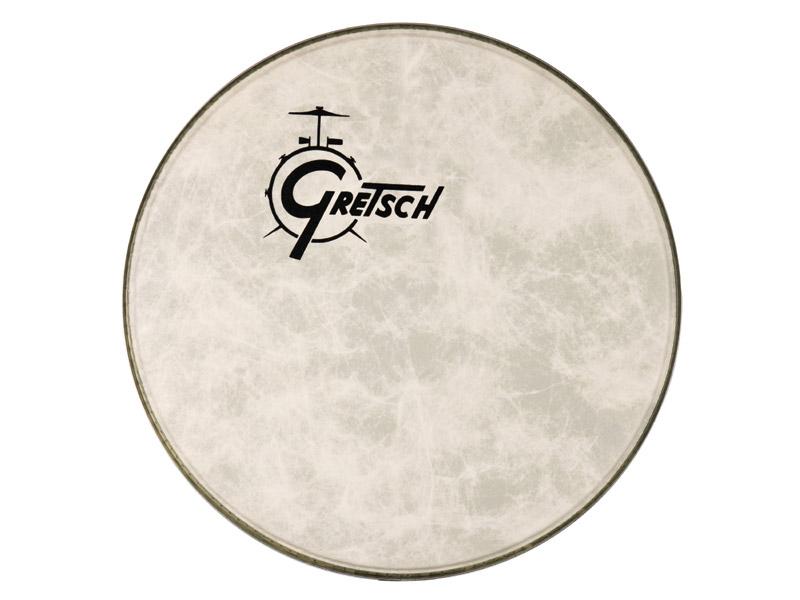 GRETSCH GRETSCH GPFIBERO-20 バスドラムヘッド ロゴ入り 18インチ【グレッチ ロゴ入り 18インチ】, ダイワチョウ:08d03e8a --- officewill.xsrv.jp