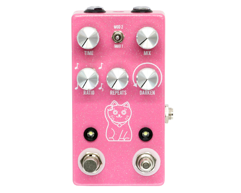 JHS Pedals ディレイ Lucky Cat Delay コンパクトエフェクター Cat ディレイ【JHS ペダルス Pedals】, 毛呂山町:425e1a0e --- officewill.xsrv.jp