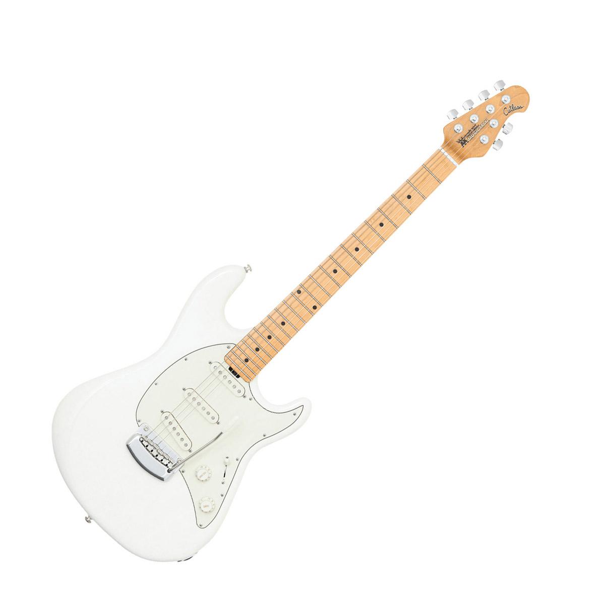 MUSICMAN CUTLASS Ivory White エレキギター 【ミュージックマン】