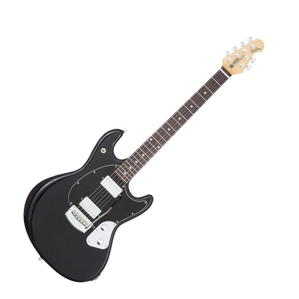 MUSICMAN STINGRAY エレキギター Black GUITAR Black エレキギター MUSICMAN【ミュージックマン】, ヒジカワチョウ:90fc9ba3 --- officewill.xsrv.jp