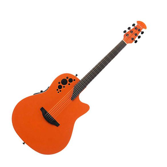 Ovation 1868TX Gloss Orange エレアコギター Elite TX シリーズ Super Shallow 【オベーション】