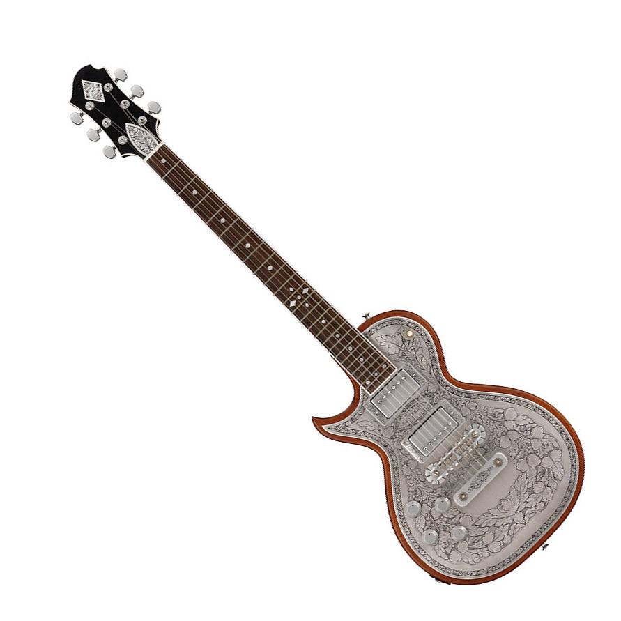 ZEMAITIS A24MF LH Natural エレキギター 左利き レフトハンド メタルフロント アンタナスシリーズ 【ゼマティス】
