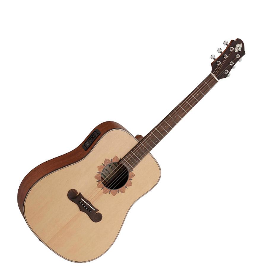 ZEMAITIS CAD-100FW-E エレアコギター ドレッドノートモデルシリーズ 【ゼマティス】