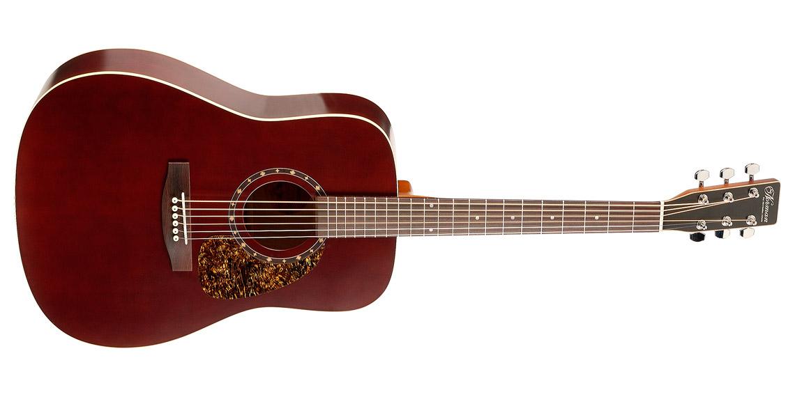 Norman B18 Burgundy Burgundy アコースティックギター プロテジェシリーズ【ノーマン】, コレクト&コレクト:abb79edc --- officewill.xsrv.jp
