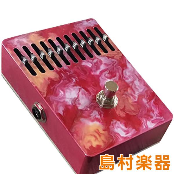 Leqtique 10Band EQ Red Swirled コンパクトエフェクター 10バンドイコライザー 【レクティーク】