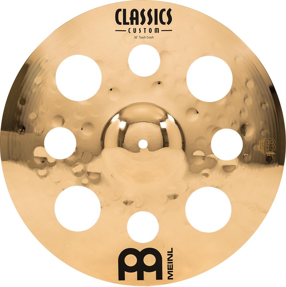 MEINL CC16TRC-B クラッシュシンバル Classics Custom Brilliant SERIES 16インチ 【マイネル】