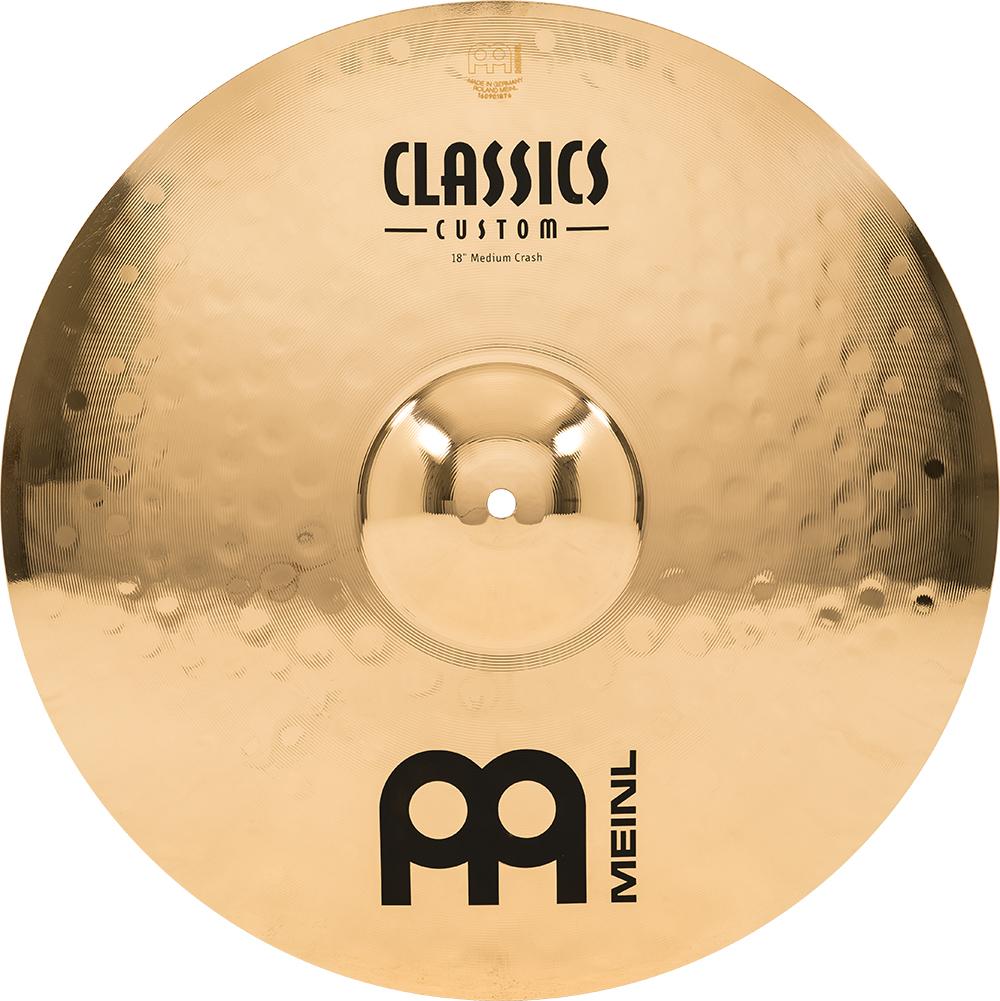 MEINL CC18MC-B クラッシュシンバル Classics Custom Brilliant SERIES MEDIUM 18インチ 【マイネル】