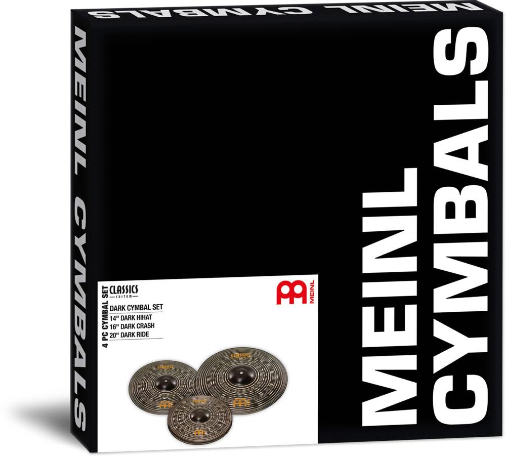 MEINL CCD141620 シンバルセット Classics Custom Dark SERIES 【マイネル】