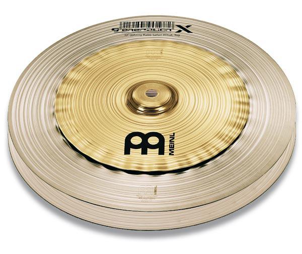 MEINL GX-12SH ハイハットシンバル GenerationXSERIES 12インチ Johnny Rabb's signature 【マイネル】