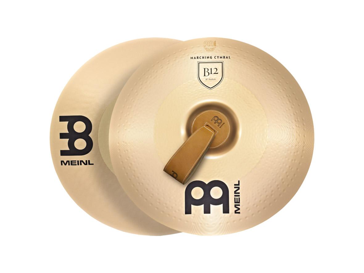 MEINL MA-B12-16M シンバル ペア Professional Marching Cymbals B12 16インチ 【マイネル】