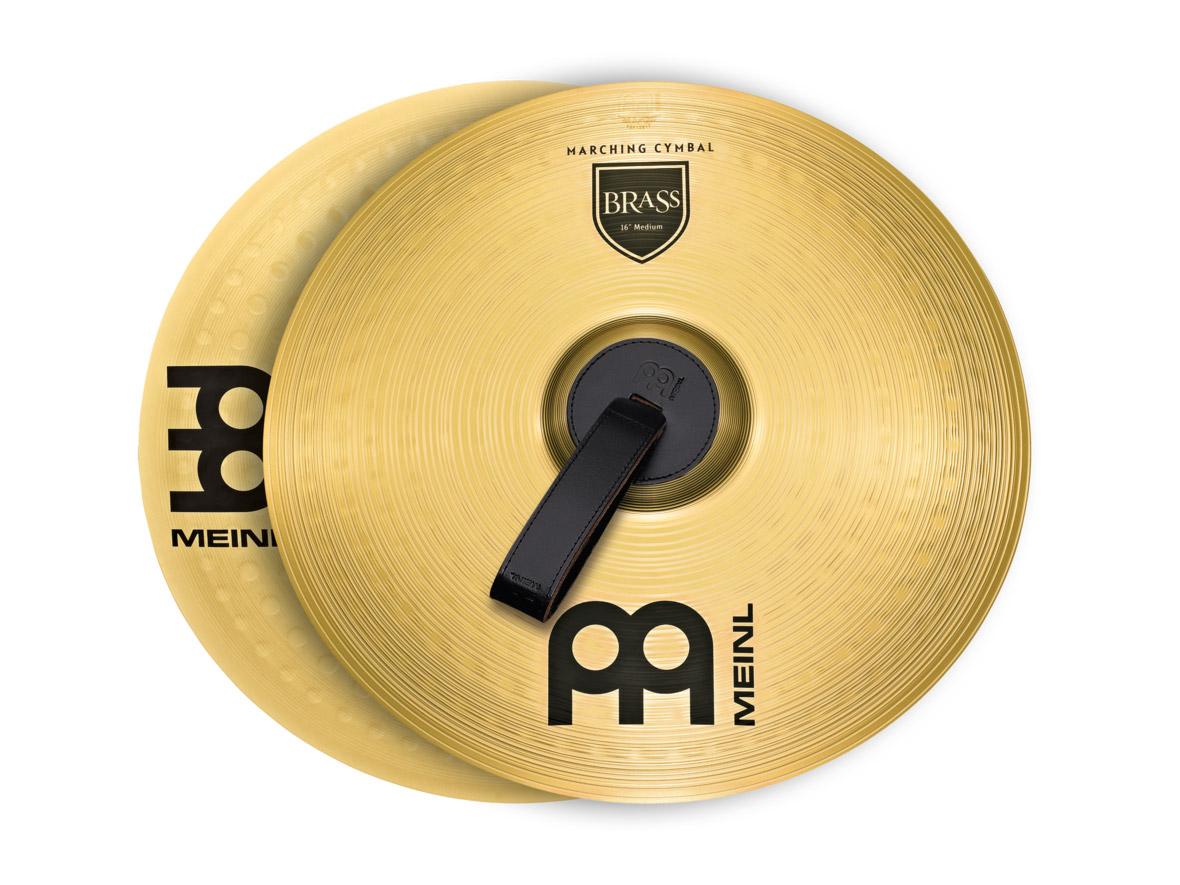 MEINL MA-BR-18M シンバル ペア Student Range Marching Cymbals Brass 18インチ 【マイネル】