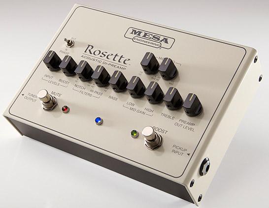 MESABOOGIE Rosette Acoustic DI-PREAMP アコースティックギター用 DIプリアンプ 【メサブギー】