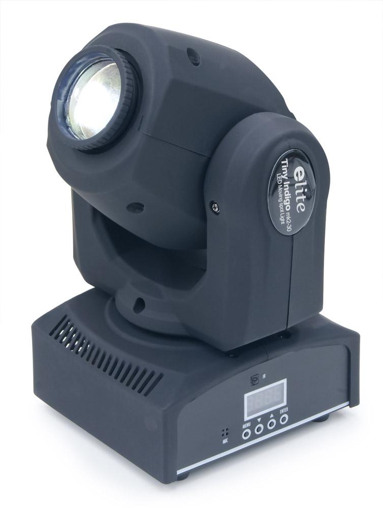 イーライト Tiny Indigo mk2-30 BK LEDムービングスポットライト